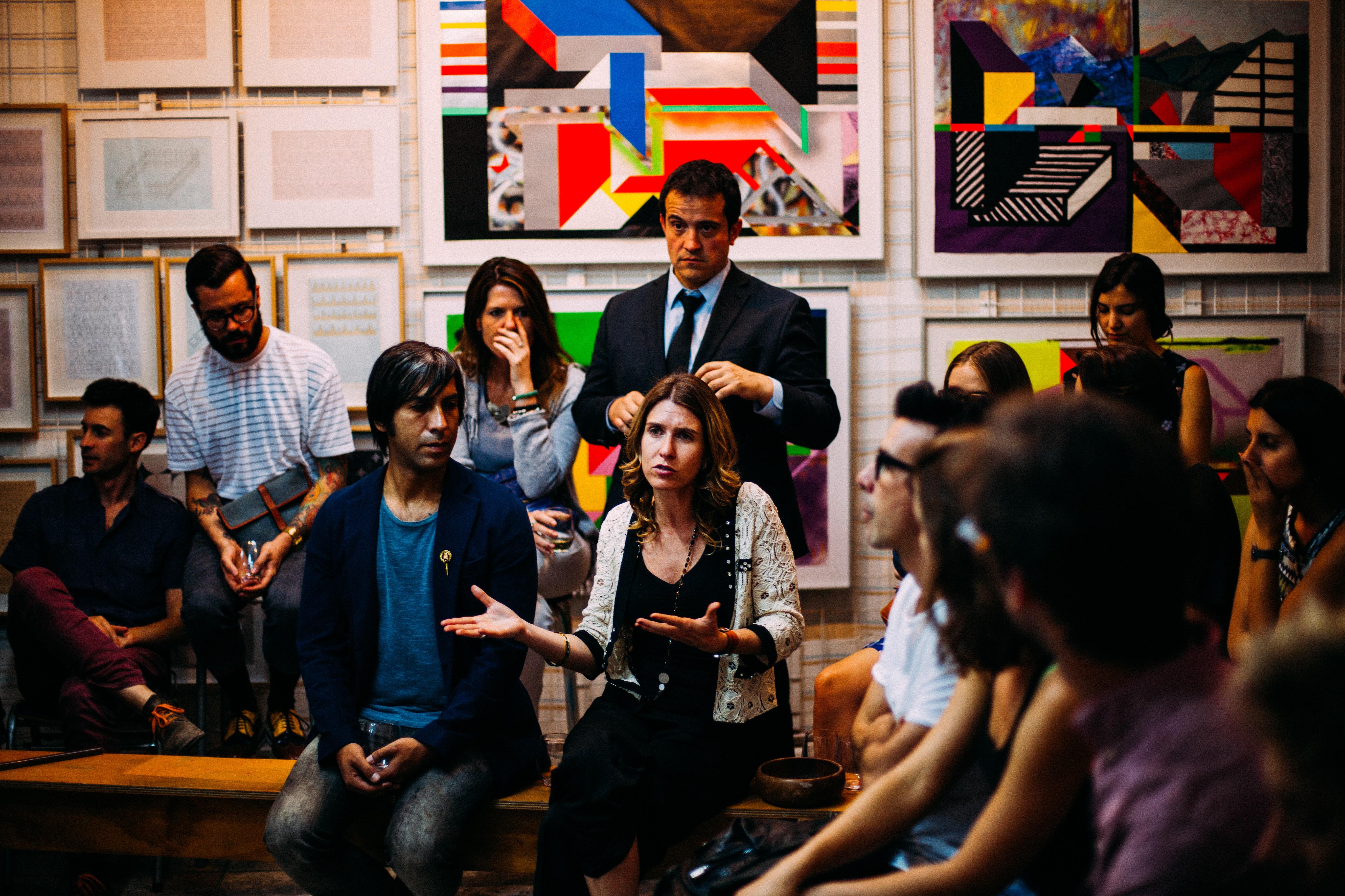 Public engagement meeting